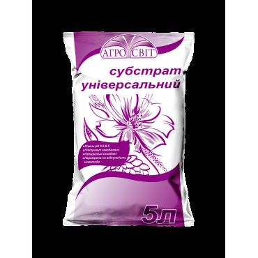 """Субстрат торф""""яний універсальний 5л ЕКОПАК"""