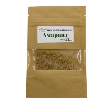 Насіння TopGreen для мікрозелені Амарант, 3гр.