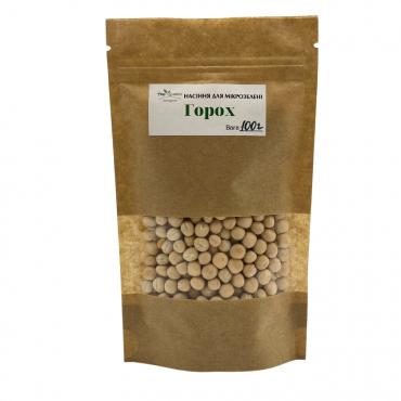 Насіння TopGreen для мікрозелені Горох,100 г.