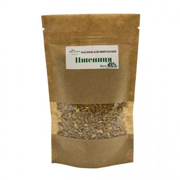Насіння TopGreen для мікрозелені Пшениця, 100 г.